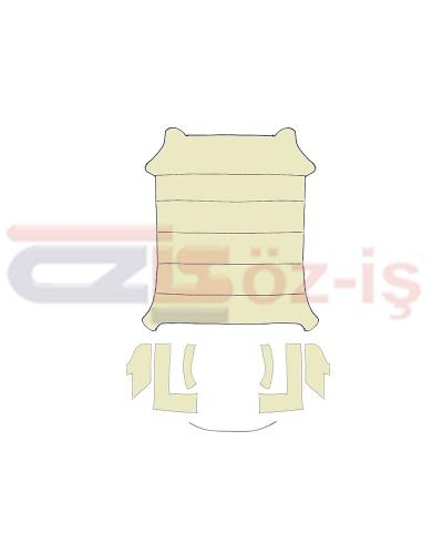 VW GOLF 1 COUPE HEADLINER   - CREAM  -