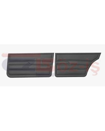 VW GOLF 1 JETTA 79-83 INTERIOR DOOR PANELS GREY
