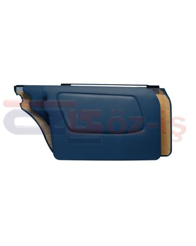 MERCEDES W123 DOOR PANEL SET 4 PCS DARK BLUE
