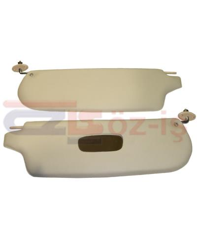 VW KARMANN GHIA SUNVISOR SET CREAM