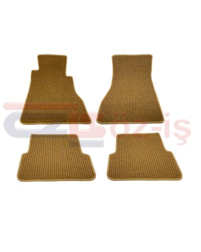 MERCEDES W126 COUPE CARPET MAT LINE PALOMINO