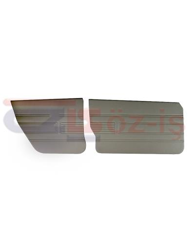 AUDI 80 -1980 DOOR PANEL SET 4 PCS GREY