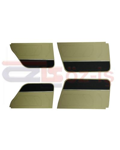 RENAULT 9 DOOR PANEL BEIGE (WITH NICKEL) 5 PCS